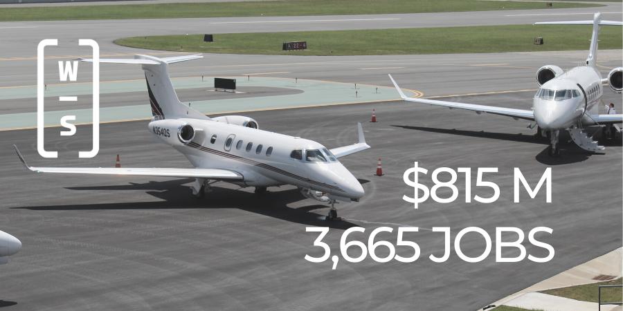 Smith Reynolds Airport economic impact