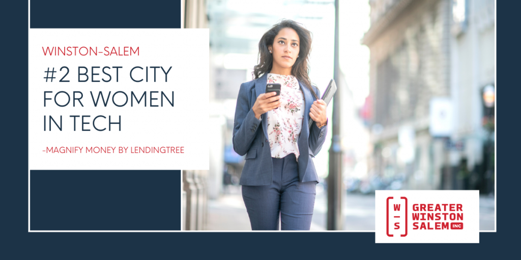 best city for women in tech graphic