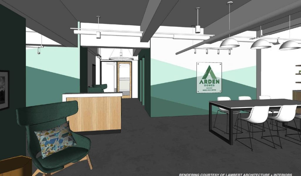 Arden Homes HQ rendering